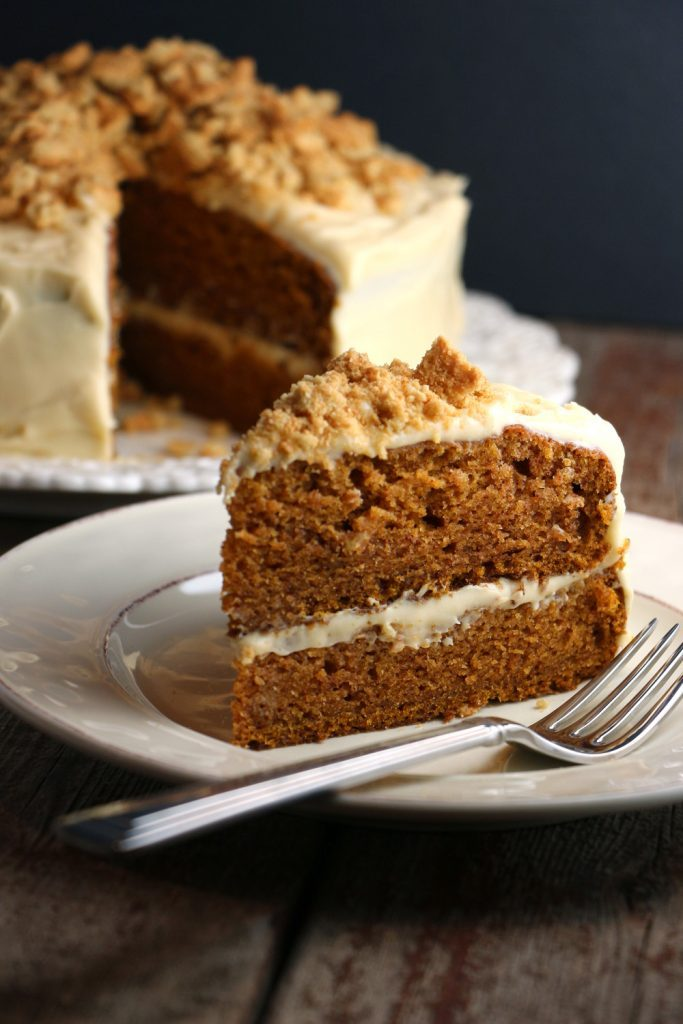 pumpkincake 683x1024 - Dog Cakes - 5 Recipes That Dogs Will Love