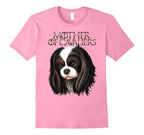 Mens Cavalier king charles spaniel t shirt 2XL Pink