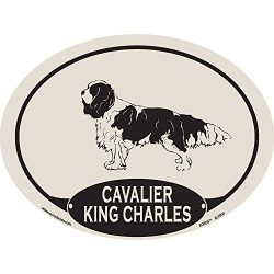European Style Cavalier King Charles Auto Decal