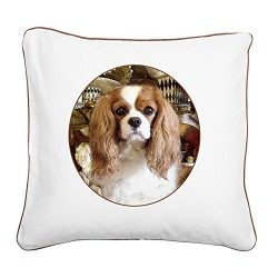 CafePress – Cavalier King Charles Spaniel – 20″ Canvas Pillow, Throw Pillow, Accent Pillow