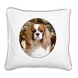 CafePress – Cavalier King Charles Spaniel – 20″ Canvas Pillow, Throw Pillow, Accent Pillow