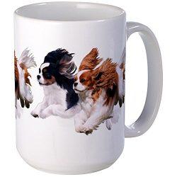 CafePress – Cavaliers – Color Large Mug – Coffee Mug, Large 15 oz. White Coffee Cup