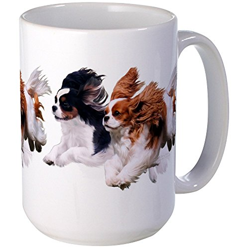 CafePress – Cavaliers – Color Large Mug – Coffee Mug, Large 15 oz. White Coffee Cup