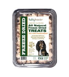 Healthy Breeds Freeze Dried Treats for Dogs for Cavalier King Charles Spaniel – OVER 200 BREEDS – Multiple Meats Meat Made in The USA – 8 oz