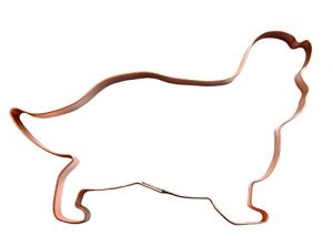 No. 1 Cavalier King Charles Spaniel Copper Dog Cookie Cutter