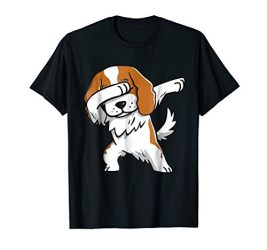 Funny Dabbing Cavalier King Dog Birthday Gift Shirt