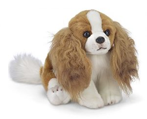 "Bearington Sadie Cavalier King Charles Spaniel Plush Stuffed Animal Puppy Dog 13"""