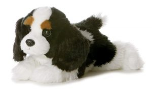 Aurora World Flopsie Plush Charles Dog, 12″