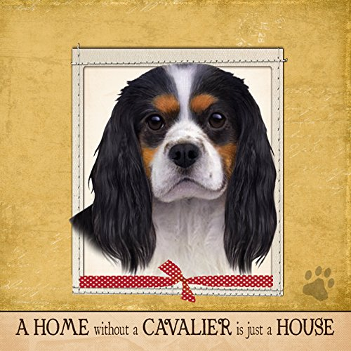 E&S Pets Ultra Soft 16″x 16″ King Charles Cavalier Gift Pillow