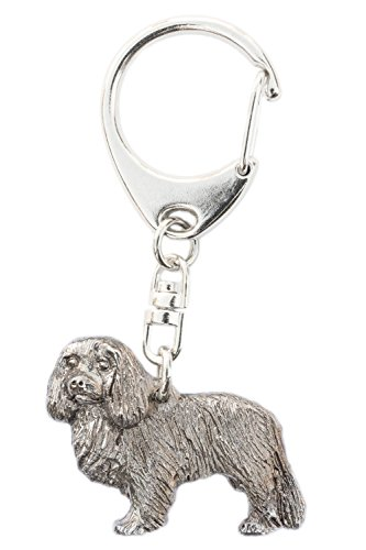 Cavalier King Charles Spaniel Made in U.K Artistic Style Dog Key Ring Collection