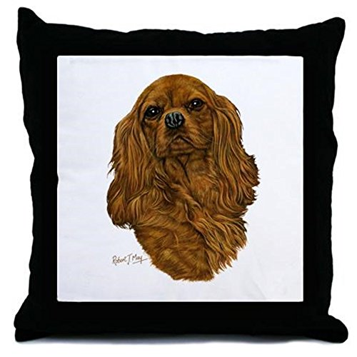 CafePress Cavalier King Charles – Decor Throw Pillow (18″x18″)