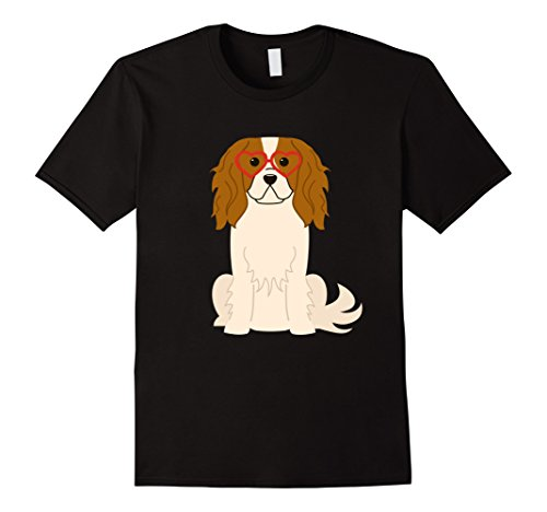 Cavalier King Charles Spaniel Valentine's Day Heart T Shirt