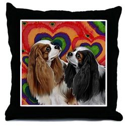 CafePress – CAVALIER KING CHARLES SPANIEL DOGS – Decor Throw Pillow (18″x18″)