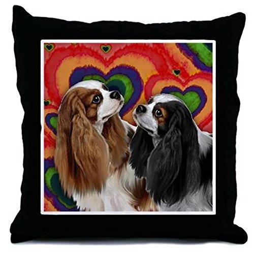 CafePress – CAVALIER KING CHARLES SPANIEL DOGS – Decor Throw Pillow (18″x18″)