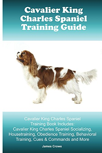 Cavalier King Charles Spaniel Training Guide. Cavalier King Charles Spaniel Training Book Includes: Socializing, Housetraining, Obedience Training, Cues & Commands and More