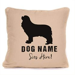 Personalised Cavalier King Charles Spaniel Gift Throw Pillow Case | 18×18 Inch Customizable Dog Gift Cushion Cover