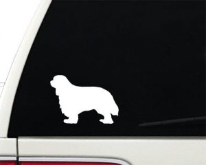 Cavalier King Charles Spaniel – Vinyl Decal – Car Phone Helmet – SELECT SIZE