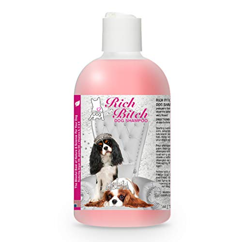 Cavalier King Charles Spaniel Rich Bitch Dog Shampoo, 8-Ounce