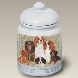 Cavalier King Charles – Best of Breed Treat Jars
