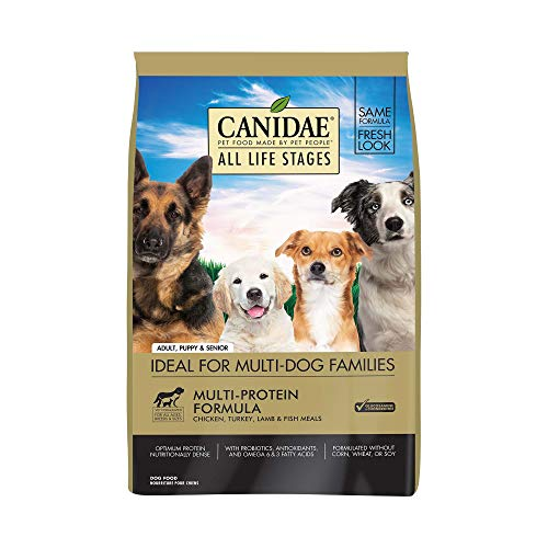 CANIDAE All Life Stages Dog Dry Food Chicken, Turkey, Lamb & Fish Meals Formula 30lbs