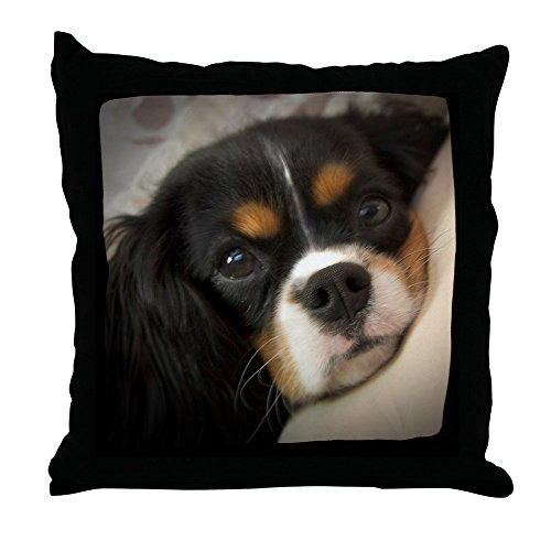 CafePress Cavalier King Charles Spaniel Decor Throw Pillow (18″x18″)