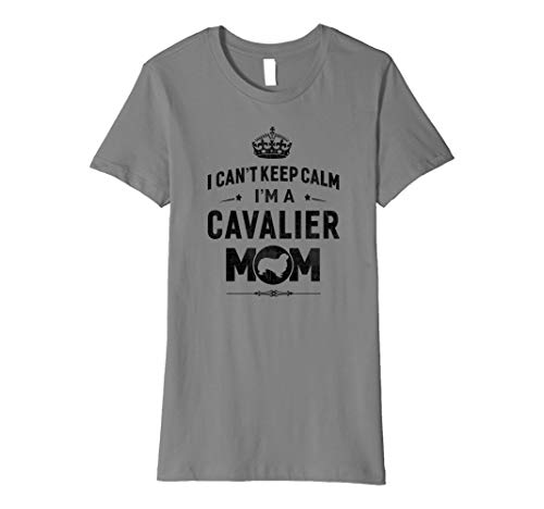 Womens A Cavalier King Charles Spaniels Mom Dog T-shirt Gift