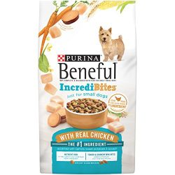 Purina Beneful Small Breed Dry Dog Food; IncrediBites With Real Chicken – 15.5 lb. Bag