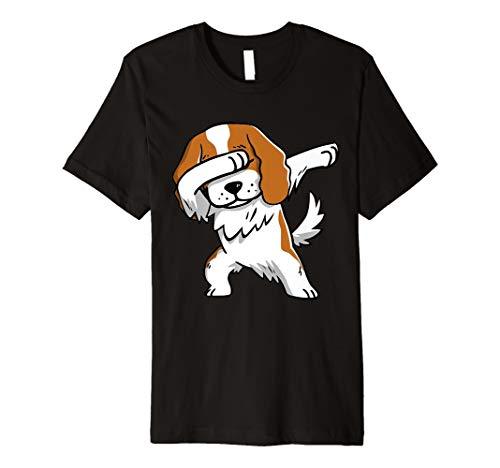 Funny Dabbing Cavalier King Charles Spaniel Dog Shirt