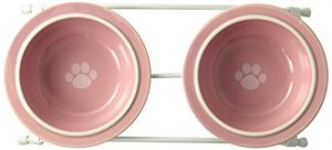 Petrageous Designs Toftee's Paws Feeder, Pink