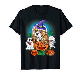 Cavalier King Charles Spaniels Halloween T-Shirt