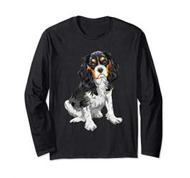 Cavalier King Charles Spaniel Long Sleeve Shirt