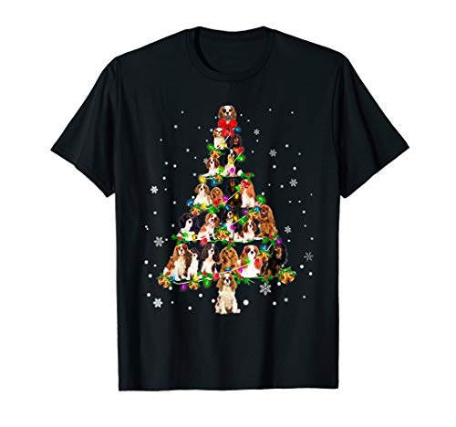 Cavalier King Charles Spaniel – Christmas Tree T-Shirt