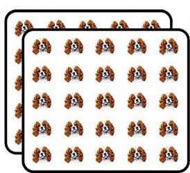Cavalier King Charles Spaniel Sticker for Scrapbooking, Calendars, Arts, Kids DIY Crafts, Album, Bullet Journals 50 Pack