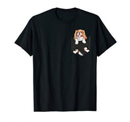 Dog in Your Pocket Cavalier King Charles Spaniels T-Shirt