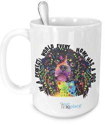 CAVALIER KING CHARLES SPANIEL Dog Tea/Coffee Drinking cup Kitchen Tableware mug white 15 oz Serving Cup dishwasher safe